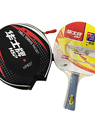 1 Star Table Tennis Rackets Ping Pang Rubber Short Handle Raw Rubber Indoor Performance Practise Leisure Sports