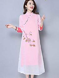 2017 весной и летом службы груши чай окрашены китайский улучшенный Hanfu платье женщина