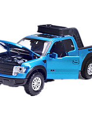 Farm Vehicle Pull Back Vehicles 1:14 Metal ABS Blue