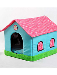 Pet Nest New Kennel Double Top House Small Dog Kennel Yurts New