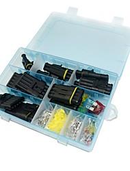 Комплект водонепроницаемого электрического разъема - предохранитель от 1 до 6 и предохранитель лезвия