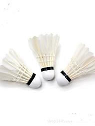 12pcs Badminton Volants Légère Stabilité pour Extérieur Exercice Fibre