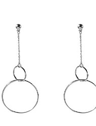 Dangle Earrings Alloy Circular Design Unique Design Geometric Round Jewelry Daily Casual 1 pair