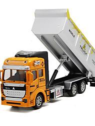 Véhicule de Construction Jouets Jouets de voiture 1: 160 Métal Plastique Orange Maquette & Jeu de Construction