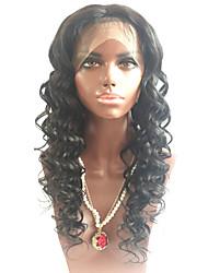 naturais grandes encaracolado 8-26 polegadas 130% de densidade glueless laço completo perucas de cabelo virgem humanos para as mulheres