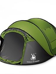 3-4 Personen Einzeln Einzimmer Camping ZeltCamping Reisen-Grün Blau
