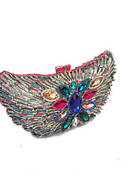 Women Luxury Handmade Rhinestone Event/Party/Clutches Evening Bags