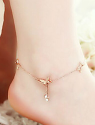 Women's Anklet/Bracelet Brass Natural Tree of Life Women's Jewelry For Casual 1 pair
