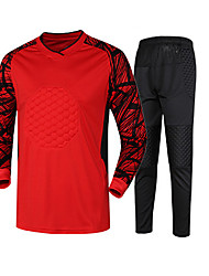 Women's Men's Soccer Tracksuit Spring Winter Fall/Autumn Polyester Racing Leisure Sports Running