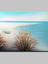 Hand-Painted Landscape Oil Painting On Canvas Modern Abstract Wall Art Picture For Home Decoration Ready To Hang
