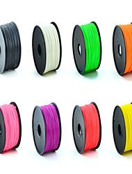3D печать PLA материалов, высокая прочность, подходит для 3 D настольного принтера, цвет случайным