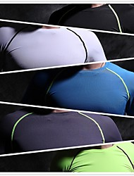 SPAKCT® Homens Corrida Camisa Calças Respirável Secagem Rápida Redutor de Suor Outono Exercício e Atividade Física Esportes Relaxantes