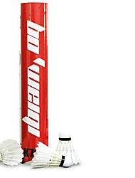 12 × 2 Badminton Volants Durable Stabilité pour Utilisation Exercice Sport de détente Plume d'oie