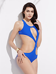 Woman's Summer New Sexy back cross Swimsuit Cut Out One Piece Swimsuit