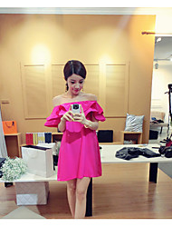 achat de porte Dongguk été 2017 nouvelles femmes Manchette volants robe bustier