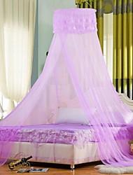 casa palacio de la princesa de encaje redonda de techo mosquiteros estudiante que cuelga doble cifrado