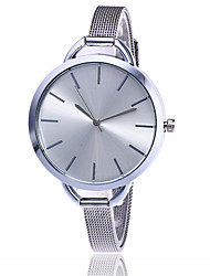 New Fashion Silver And Gold Mesh Band Wrist Watch Casual Women Quartz Watches Gift Relogio Feminino