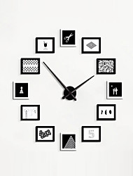 DIY Creative Photos Mut Wall Clocks