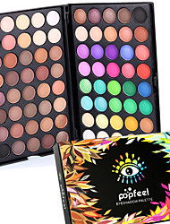 80 Colors Professional Eye Shadow Eyeshadow Palette Dry Matte&Glitter Smoky&Colorful Eyeshadow Powder Daily Party Makeup Cosmetic Palette Set