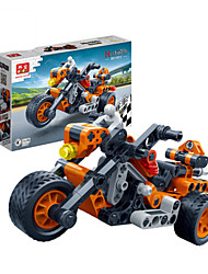 Children 's Puzzle Assembled Building Blocks Toys Hi - Tech Pull Back Car Racing Model 6961