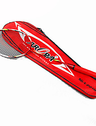 Badminton Rackets Wearproof High Strength High Elasticity Aluminum Alloy Carbon 1 Piece for Indoor Outdoor Performance-Other