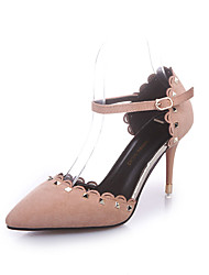 Women's Heels Spring Summer Fall Comfort PU Casual Low Heel