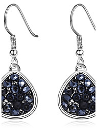 Wome's Drop Earrings Crystal Dangling Style Pendant Euramerican Fashion Personalized Classic Crystal Copper Platinum Plated Eco-friendly Material