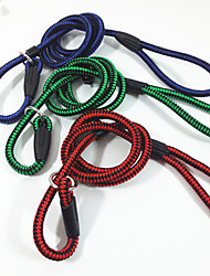 Dog Collar Safety Solid Red / Green / Blue Fabric