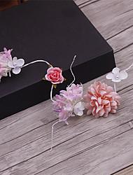 Latão imitação pérola tecido cabeça-casamento ocasião especial casuais headbands 1 peça