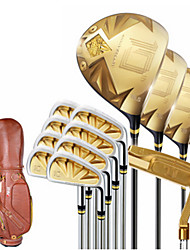 Men's Gold Golf Clubs Golf Sets For Golf Durable Alloy