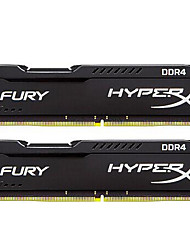 Kingston RAM 16GB Kit (8 Go * 2) DDR4 2400MHz Mémoire de bureau HX424C15FB2K2/16 PNP