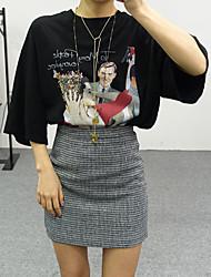 Grundmodelle Retro Print Spot Schatz barbie war dünnes Casual T-Shirt