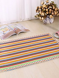 Modern Cotton Area Rugs(45*70cm)(Random Color)