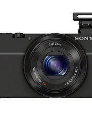 SONY® DSC-RX100  Digital Camera 1080P  Built-in Flash  Black 3.0