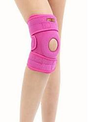 Attelle de Genou pour Fitness Course Unisexe Ajustable Respirable Protectif Antidérapage Des sports Nylon Néoprène EVA 1 paire