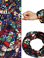 Chapéus Headbands sudoríparas Bandanas pescoço polainas MotoRespirável Térmico/Quente Secagem Rápida A Prova de Vento Materiais Leves