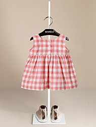 Girl's Casual/Daily Solid Dress Summer Fall 3/4 Sleeve