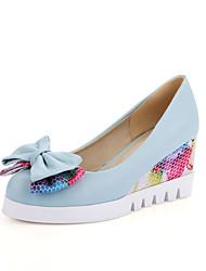 Women's Heels Spring Summer Fall Club Shoes Comfort Novelty Glitter Customized Materials Leatherette Wedding Outdoor Dress CasualFlat