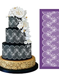 Flower Mesh Stencil for Wedding Cake Decoration Lace Mold Fabric Stencils Fondant Cake Moulds Decorating Tools Bakeware MST-01