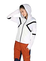 KOSHBIKE/KORAMAN® Women's Long Sleeve Running Sun Protection Clothing T-shirt Hoodie Sweatshirt TracksuitBreathable Quick Dry Ultraviolet