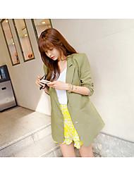 Dongguk porta para nova moda sólida snap multi bolso seção longa do terno roupas de proteção solar