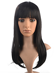 Capless Wig Long Little Curly Synthetic Fiber Women Wig Hairstyle With Wig Cap