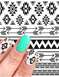 BORN PRETTY 1 sheet Nail Water Decals Transfer Stickers Nail Art Sticker