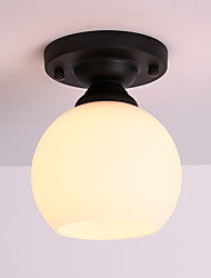 60W Flush Mount ,  Modern/Contemporary / Country Painting Feature for Mini Style Metal Living Room / Bedroom / Entry
