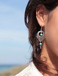 Teardrop Dangle Earrings Jewelry Dangling Style Pendant Euramerican Fashion Vintage Bohemia Daily Casual Alloy 1 pair