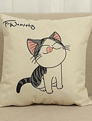 1 Pcs  Lovely cat  45cm*45cm  Decorative Pillow Cover