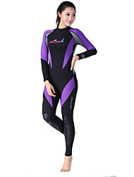 Women's 1.8mm Full Wetsuit Quick Dry Anatomic Design Breathable Neoprene Diving Suit Long Sleeve Diving Suits-Swimming DivingWinter