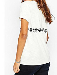 Для женщин На каждый день Для шоппинга 16-летие Школа Свидание Для улицы Лето Футболка Круглый вырез,Активный Сексуальные платья Мода С