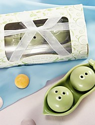 Two Peas In A Pod Salt & Pepper Shakers Favors