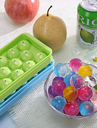 With Cover Plastic Ice 20 Frames Circular Ice Box Creative Ice Making Machine Color Random